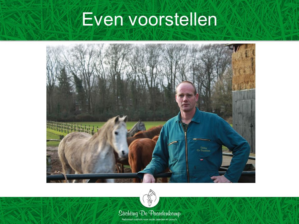 Even voorstellen