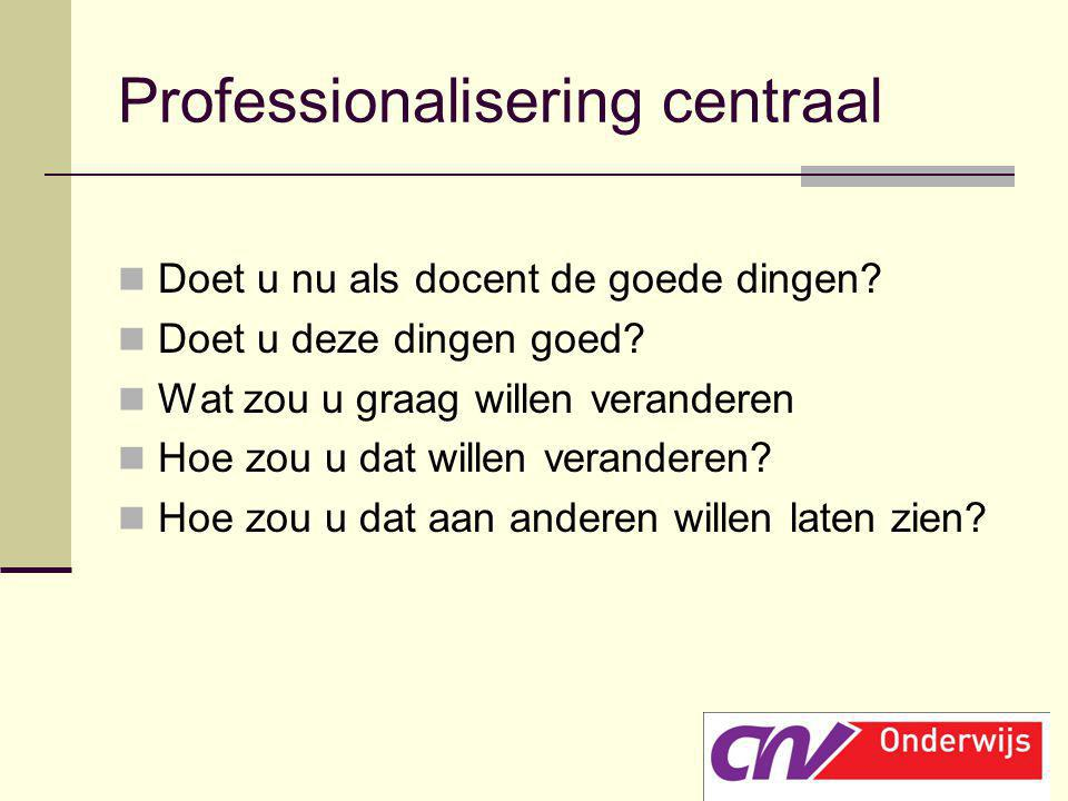 Professionalisering centraal