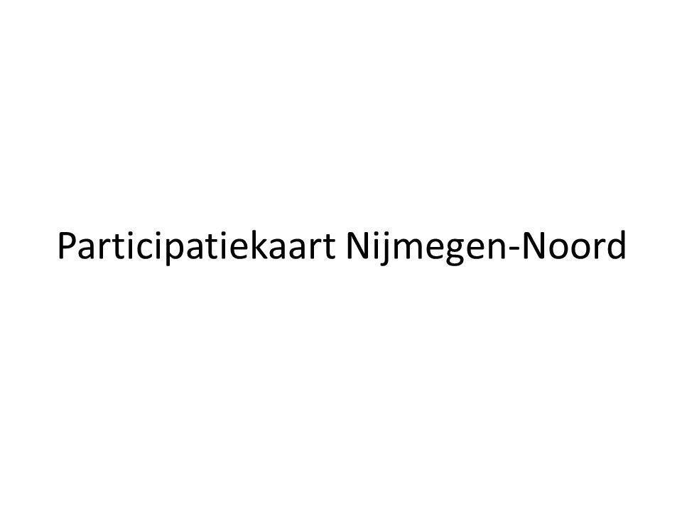 Participatiekaart Nijmegen-Noord