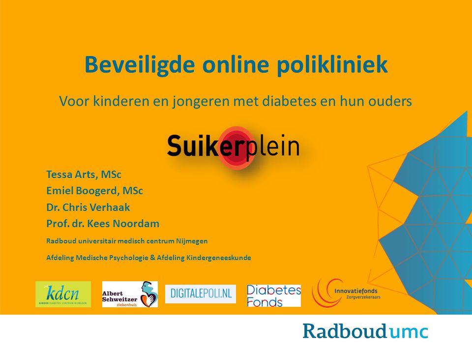 Beveiligde online polikliniek