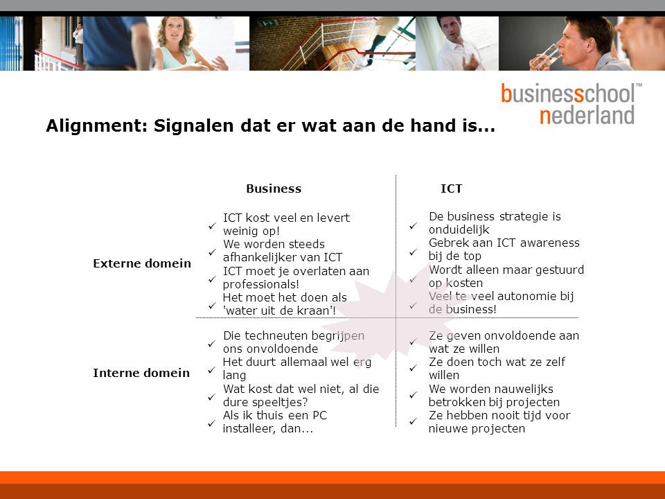 Alignment: Signalen dat er wat aan de hand is...