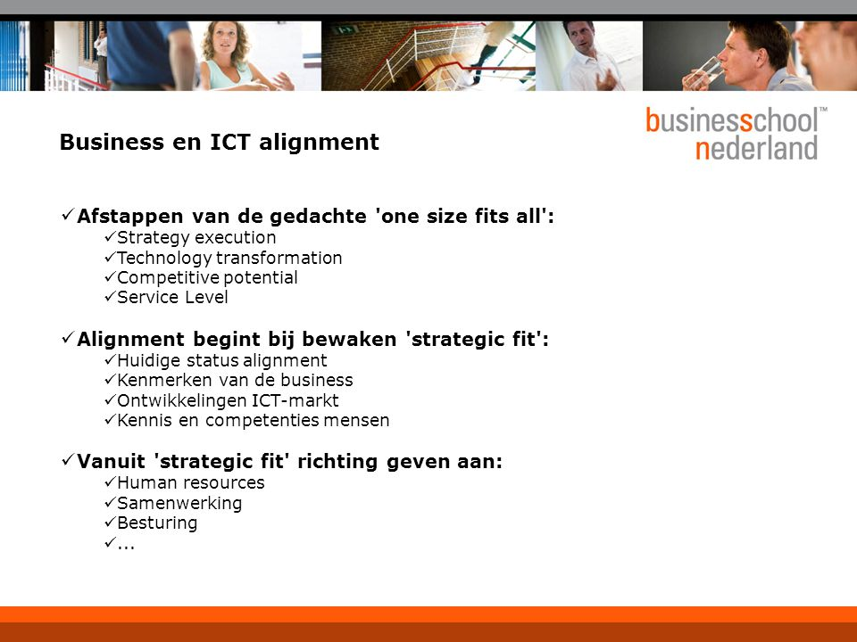 Business en ICT alignment