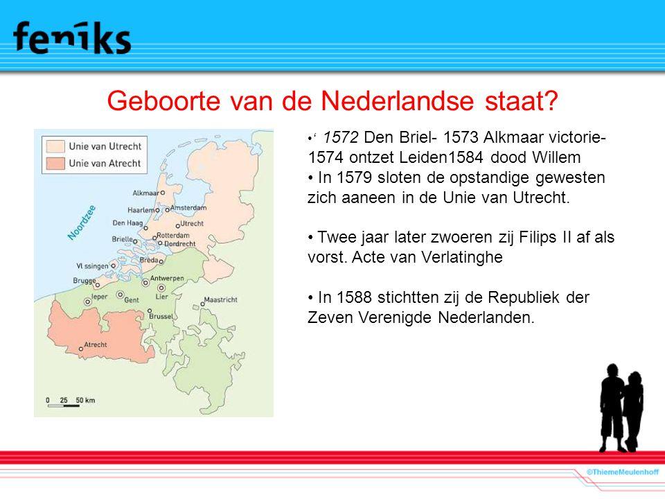Geboorte van de Nederlandse staat