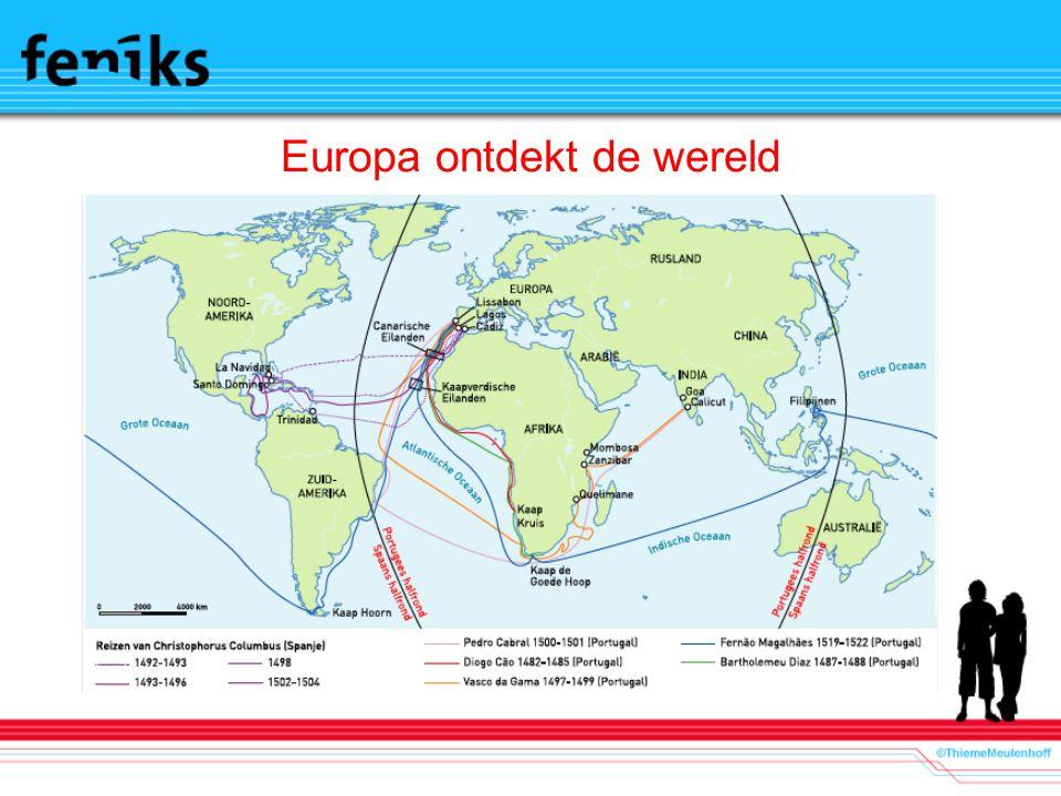 Europa ontdekt de wereld