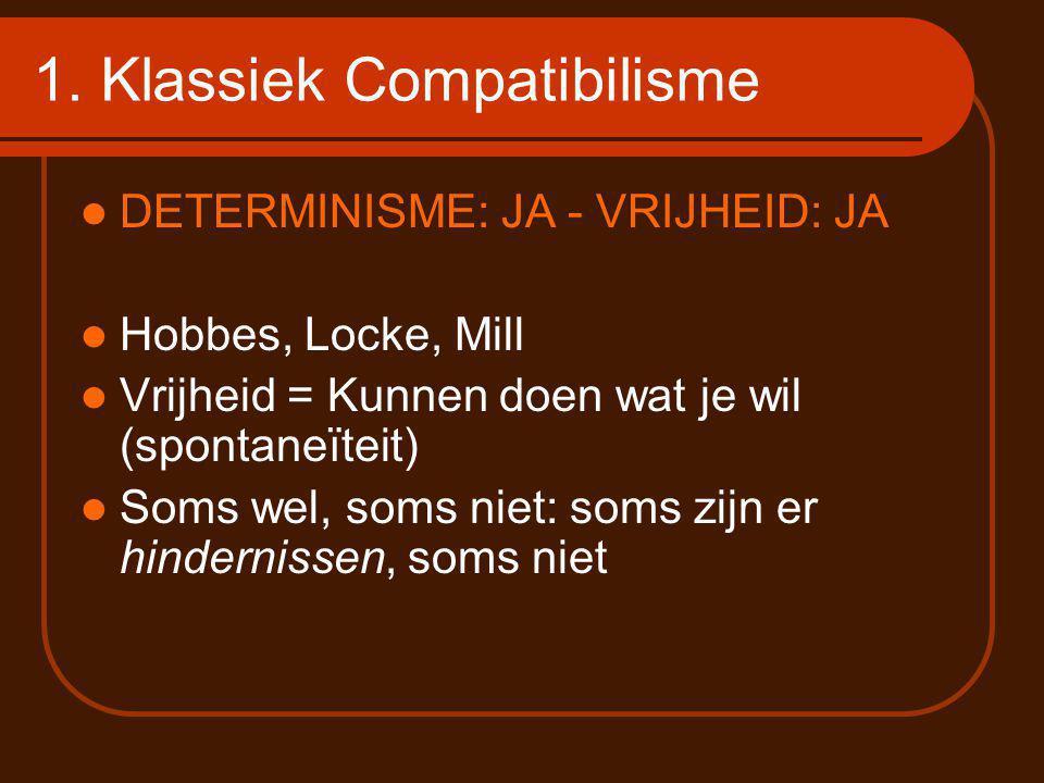 1. Klassiek Compatibilisme