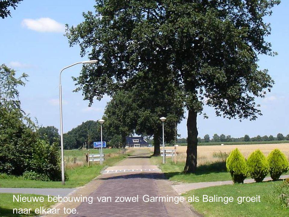 Nieuwe bebouwing van zowel Garminge als Balinge groeit naar elkaar toe.