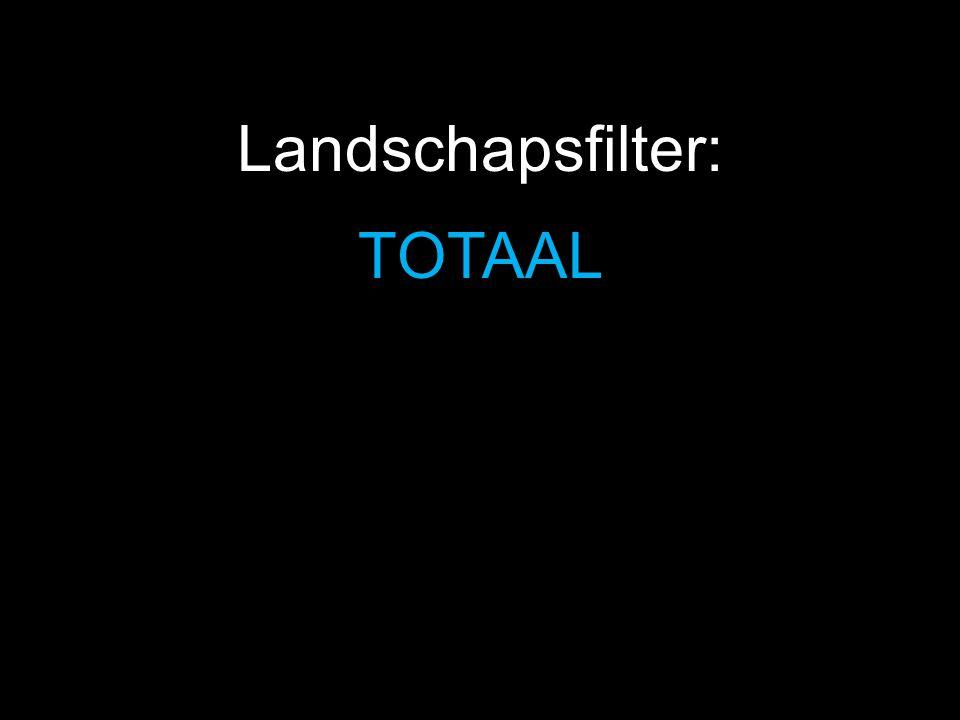 Landschapsfilter: TOTAAL