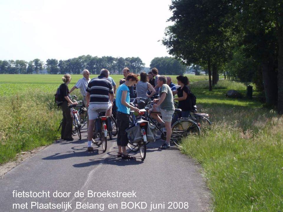 fietstocht door de Broekstreek