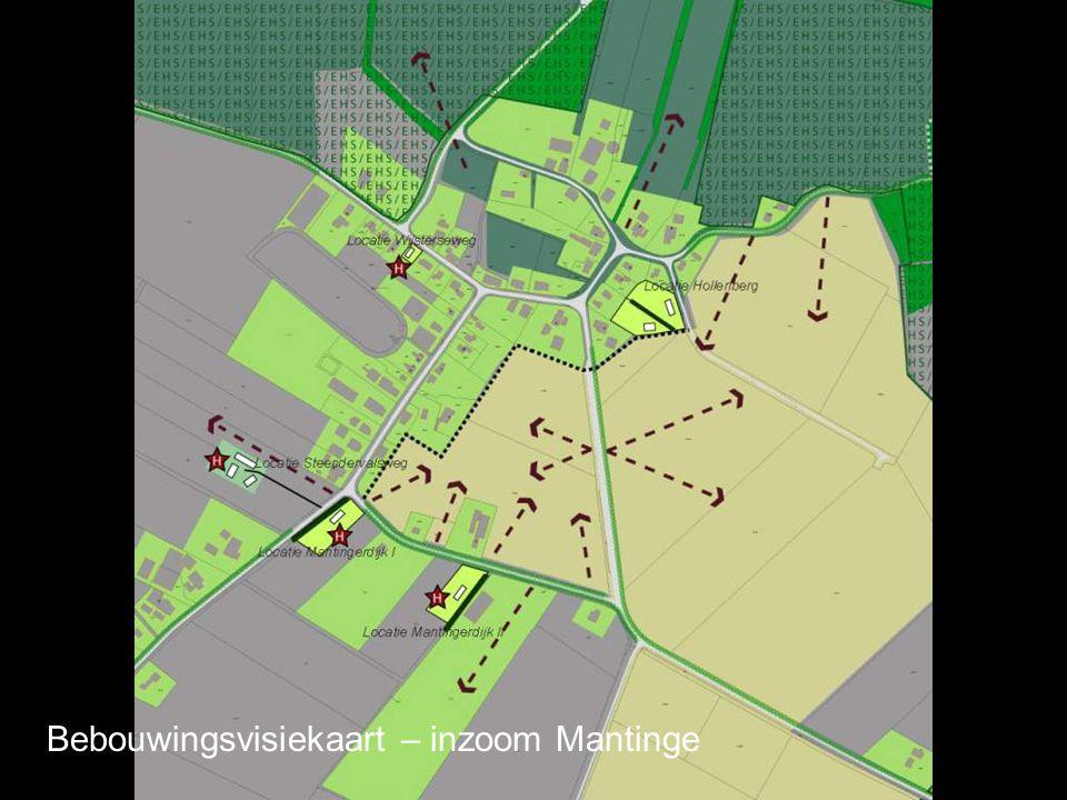 Bebouwingsvisiekaart – inzoom Mantinge