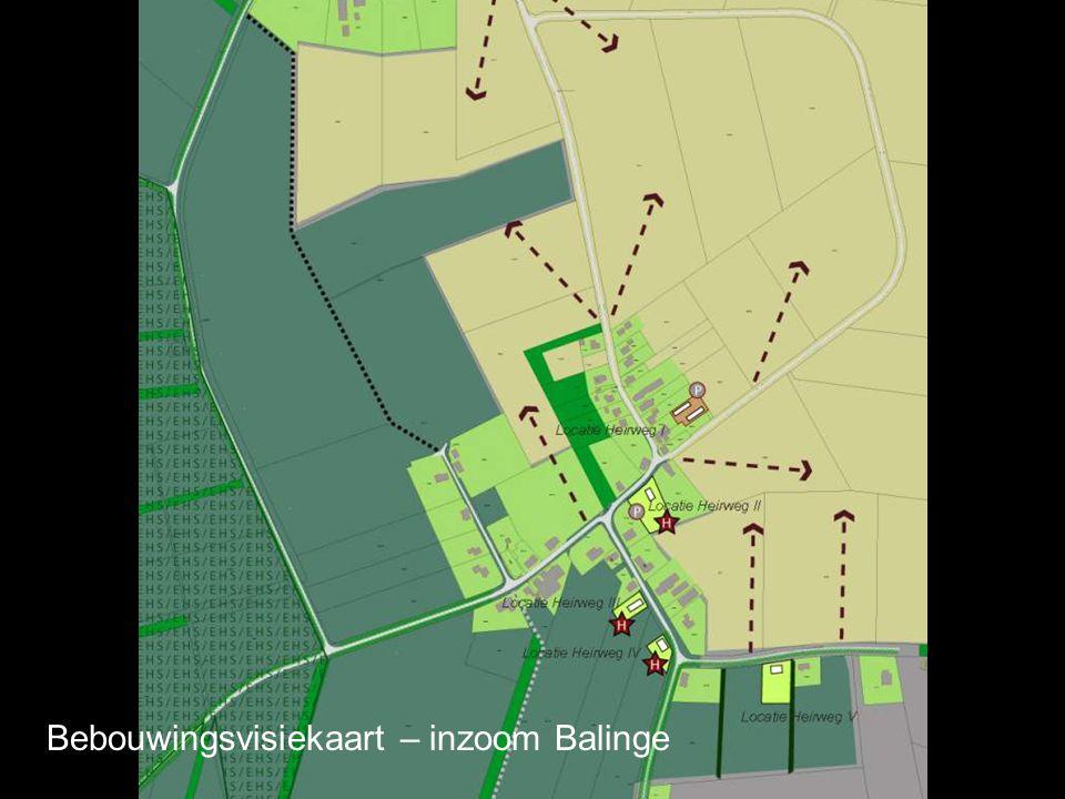 Bebouwingsvisiekaart – inzoom Balinge