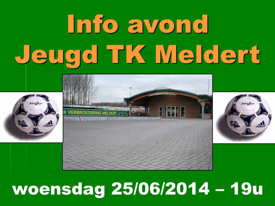 Info avond Jeugd TK Meldert