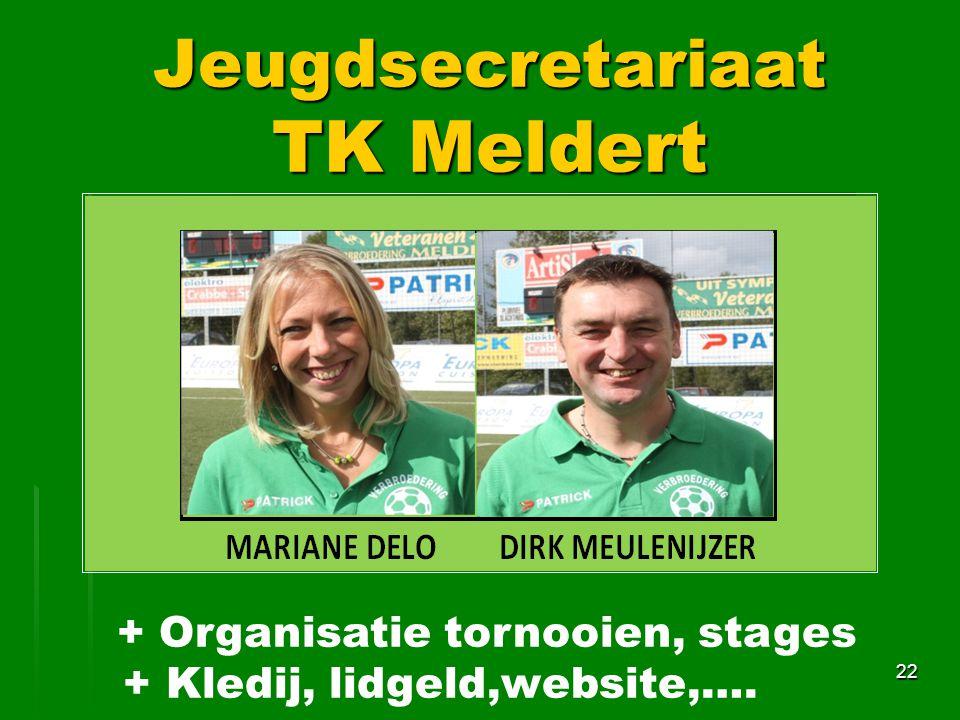 Jeugdsecretariaat TK Meldert