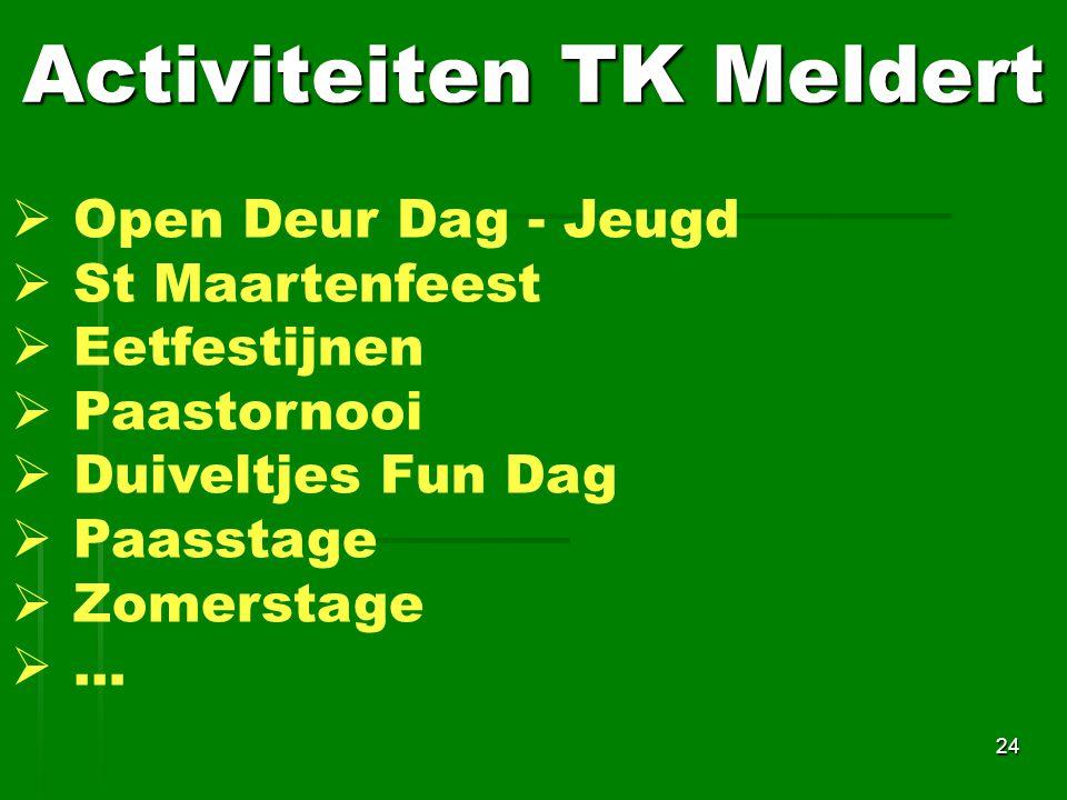 Activiteiten TK Meldert