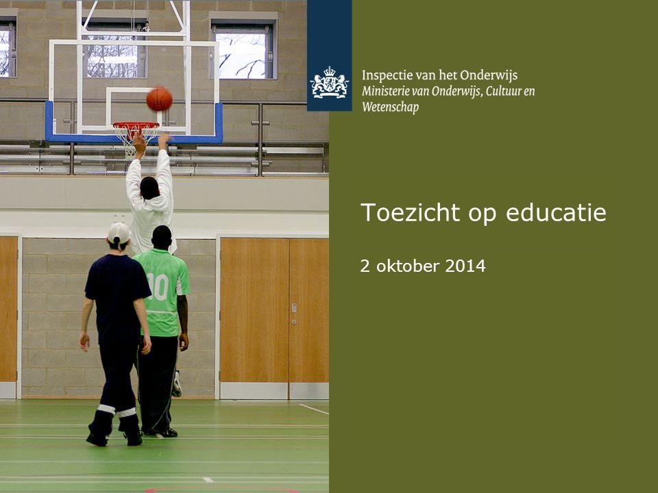 Toezicht op educatie 2 oktober 2014