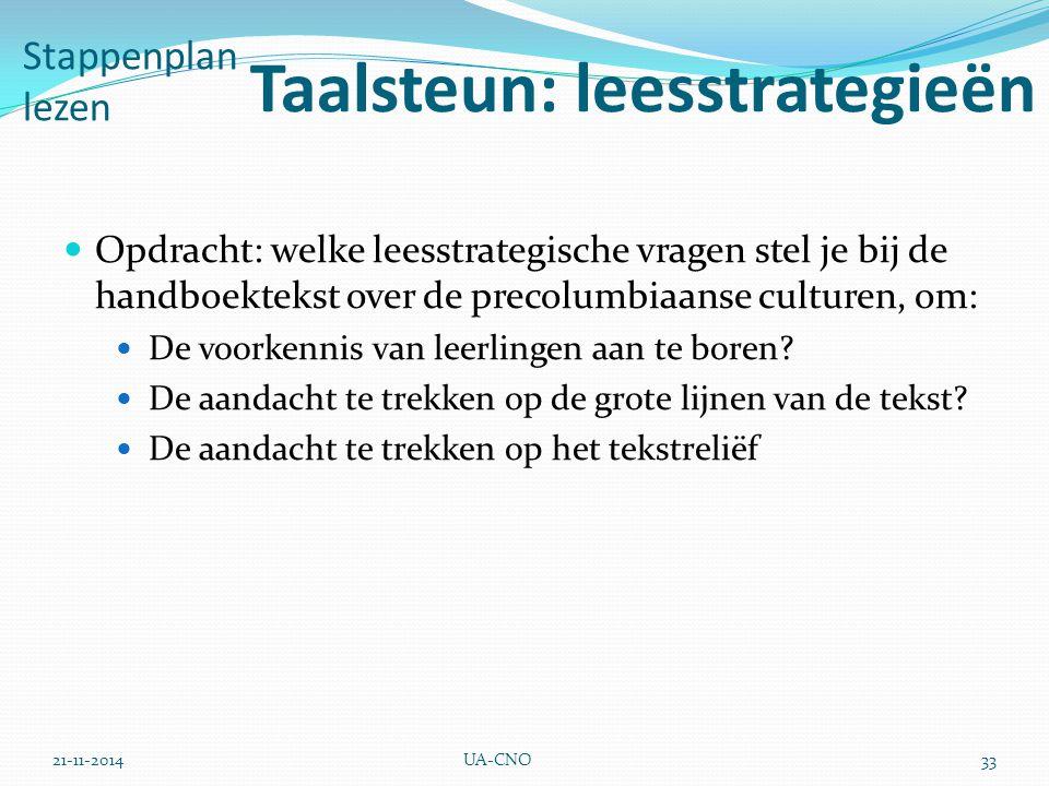 Taalsteun: leesstrategieën