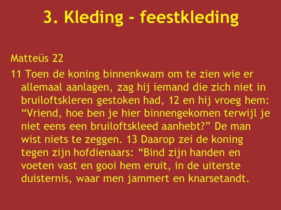 3. Kleding - feestkleding