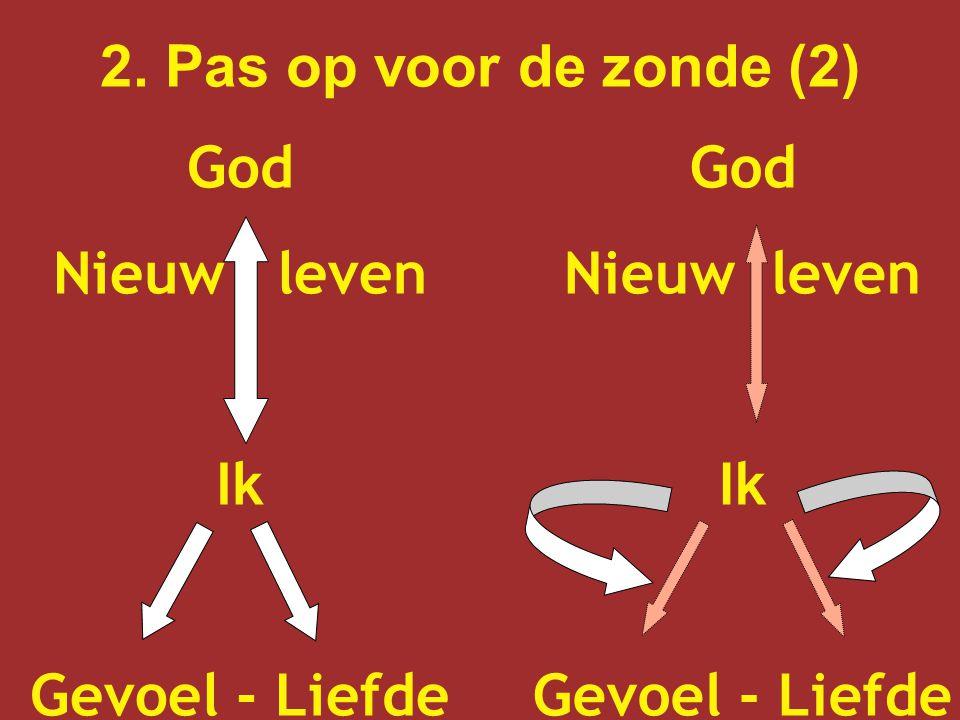 2. Pas op voor de zonde (2) God. Nieuw leven.