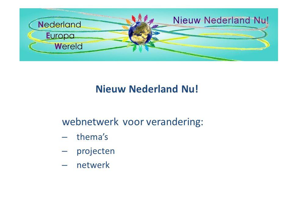 webnetwerk voor verandering: