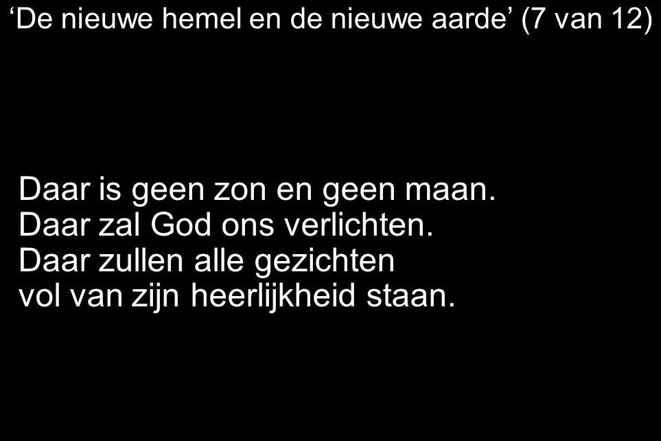 'De nieuwe hemel en de nieuwe aarde' (7 van 12)