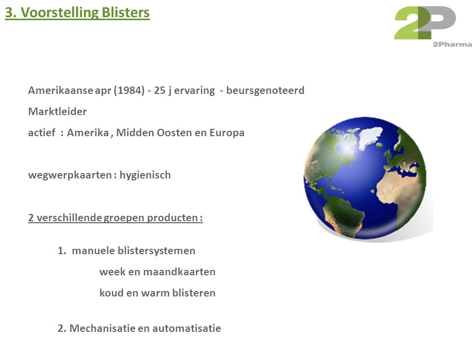 3. Voorstelling Blisters