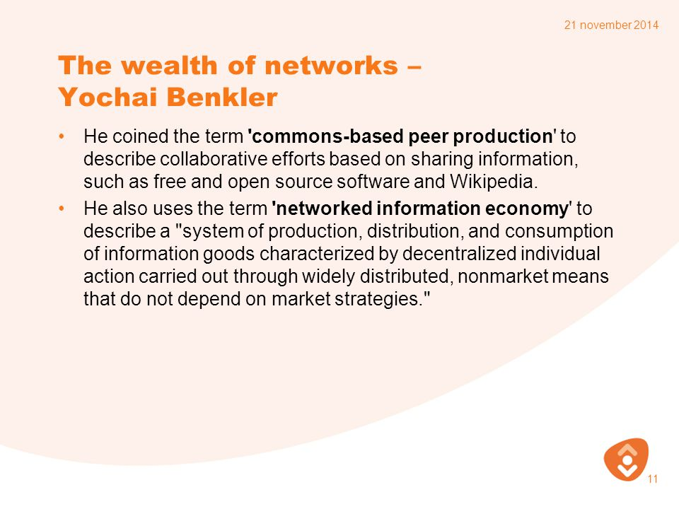 The wealth of networks – Yochai Benkler