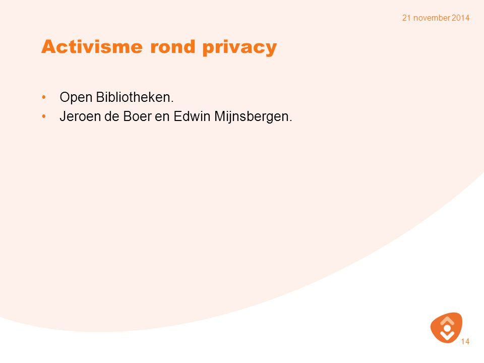 Activisme rond privacy