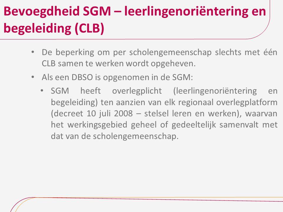 Bevoegdheid SGM – leerlingenoriëntering en begeleiding (CLB)