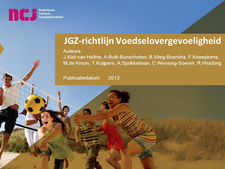 JGZ-richtlijn Voedselovergevoeligheid