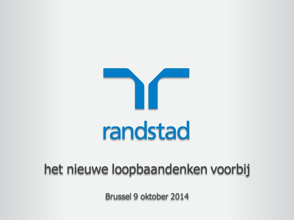 het nieuwe loopbaandenken voorbij Brussel 9 oktober 2014