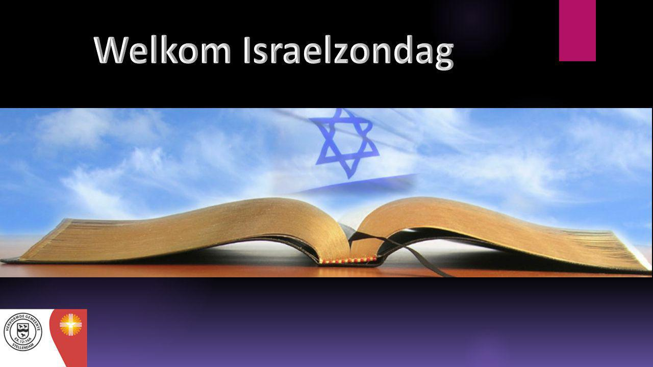 Welkom Israelzondag
