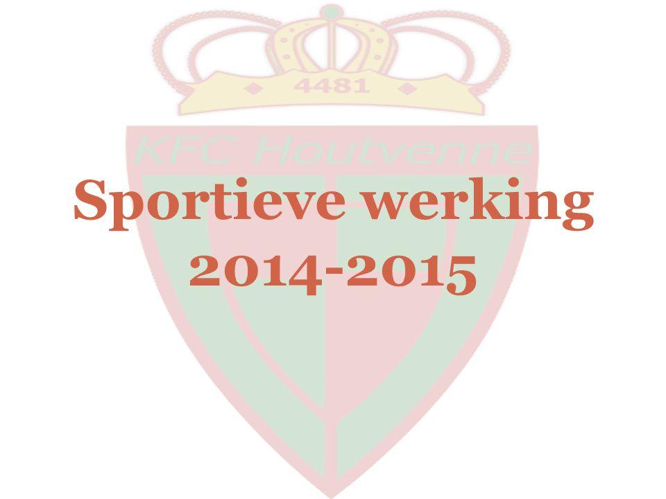Sportieve werking 2014-2015