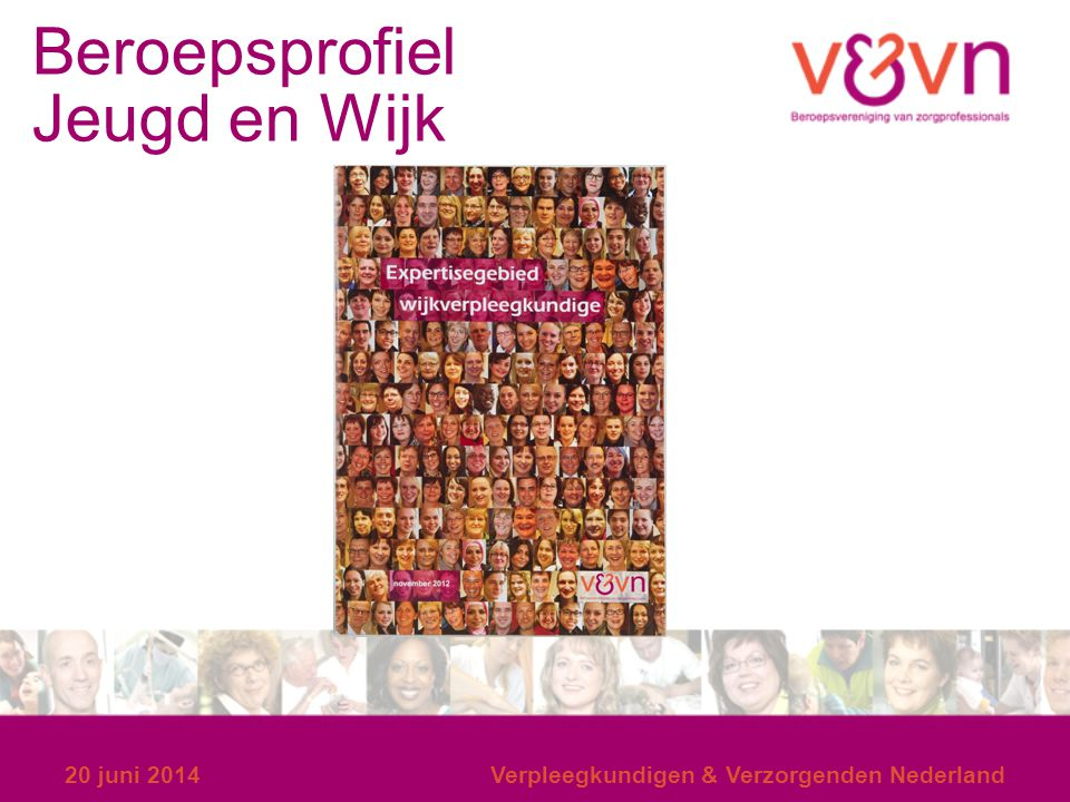 Beroepsprofiel Jeugd en Wijk