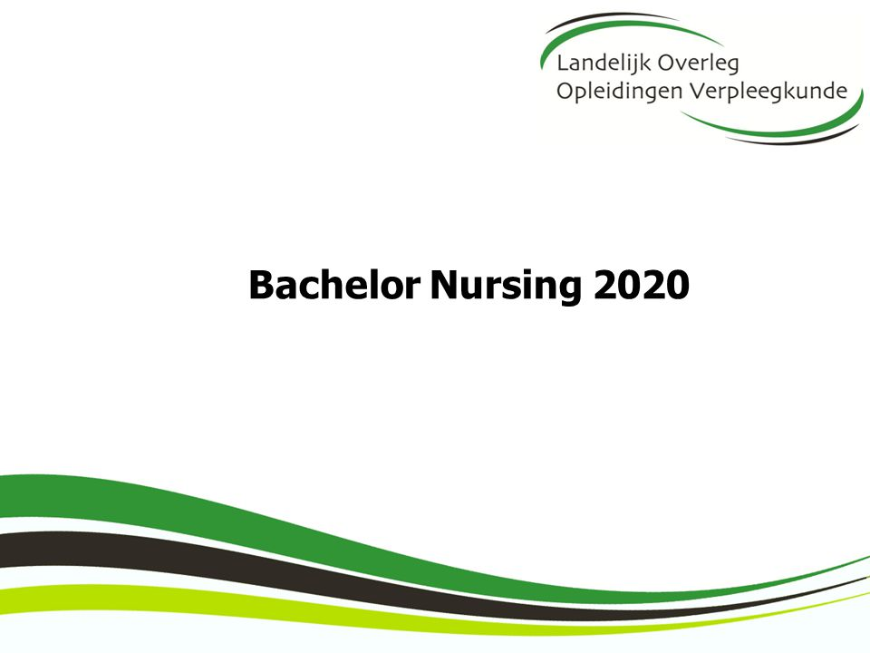 Bachelor Nursing 2020