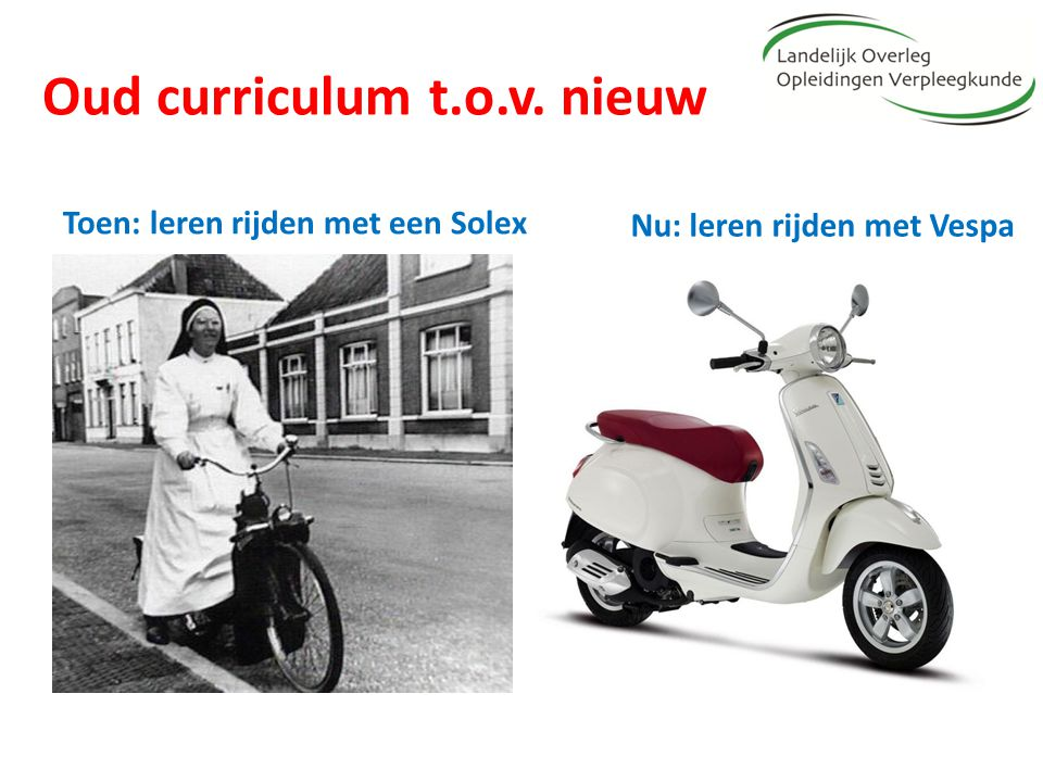 Oud curriculum t.o.v. nieuw