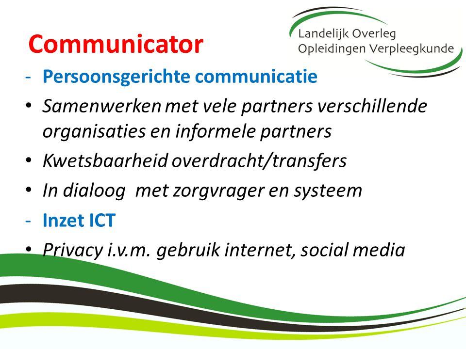 Communicator Persoonsgerichte communicatie