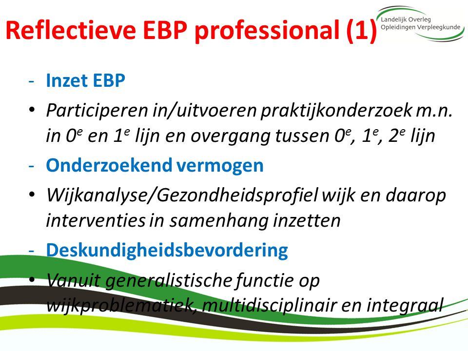 Reflectieve EBP professional (1)
