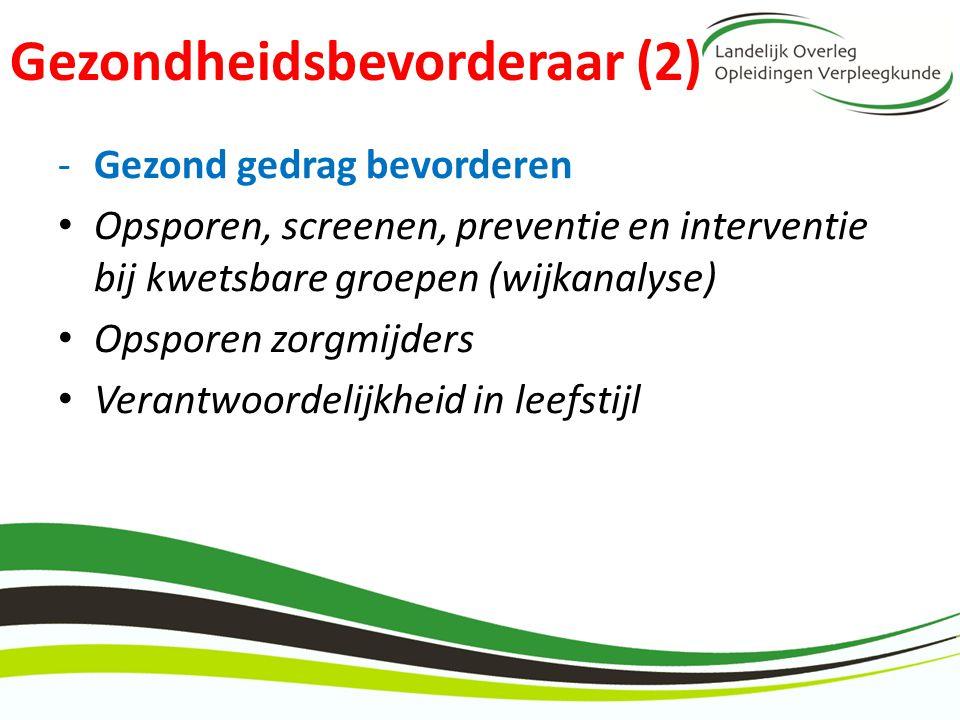 Gezondheidsbevorderaar (2)