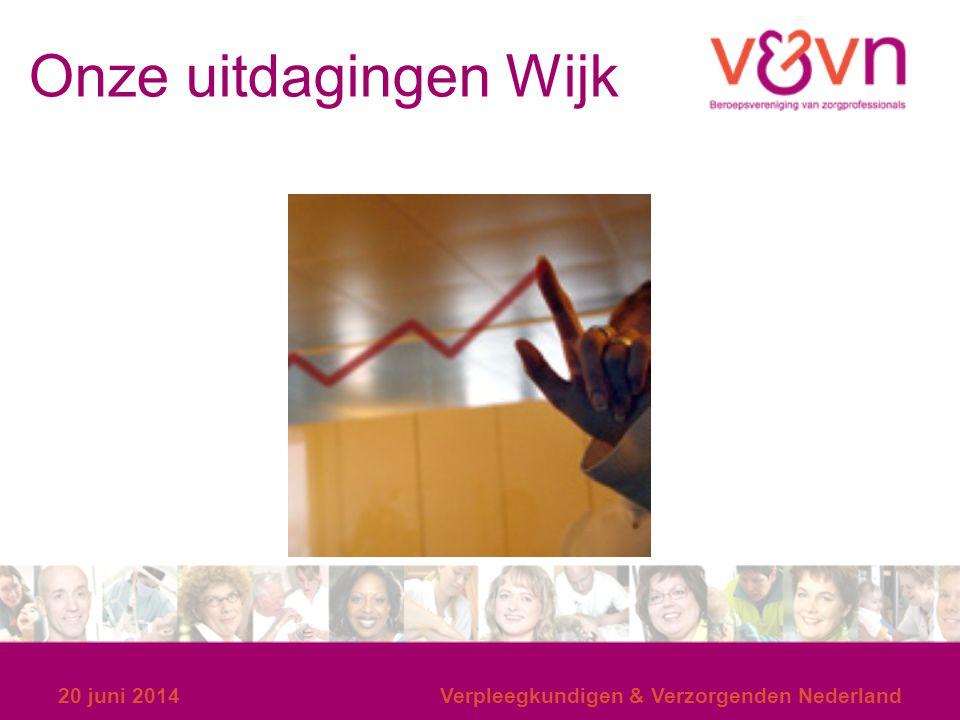 Onze uitdagingen Wijk 20 juni 2014