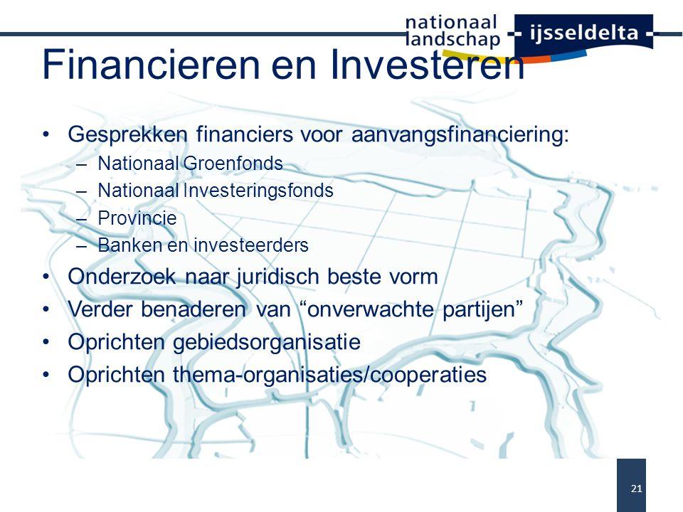 Financieren en Investeren