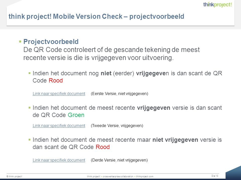think project! Mobile Version Check – projectvoorbeeld