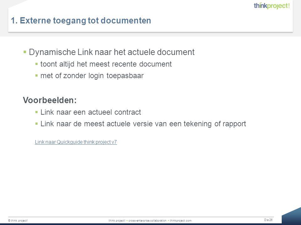 1. Externe toegang tot documenten