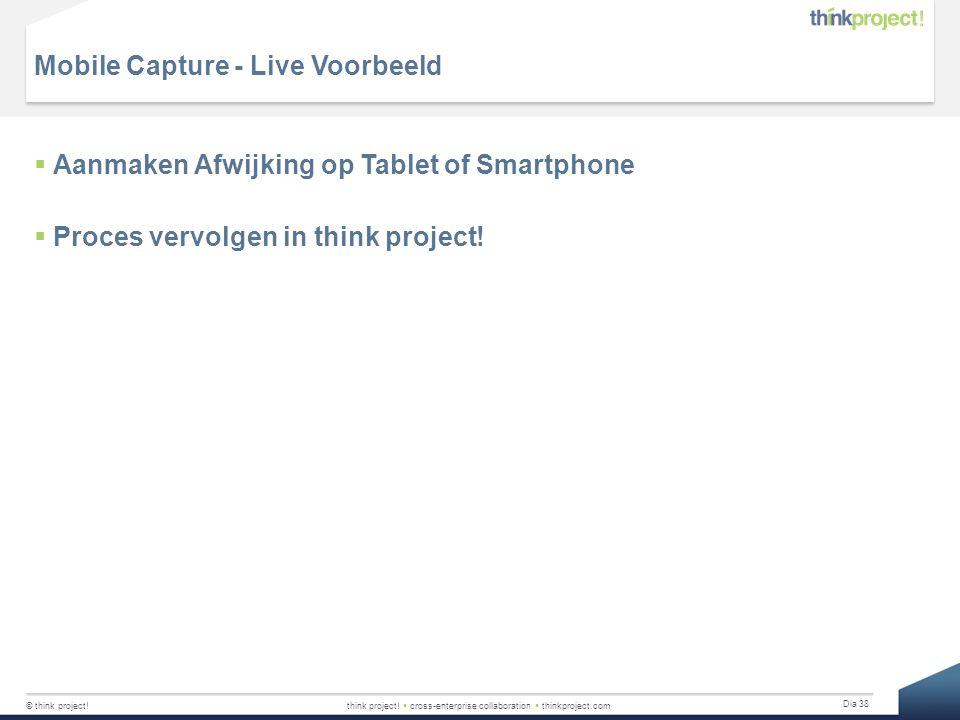 Mobile Capture - Live Voorbeeld