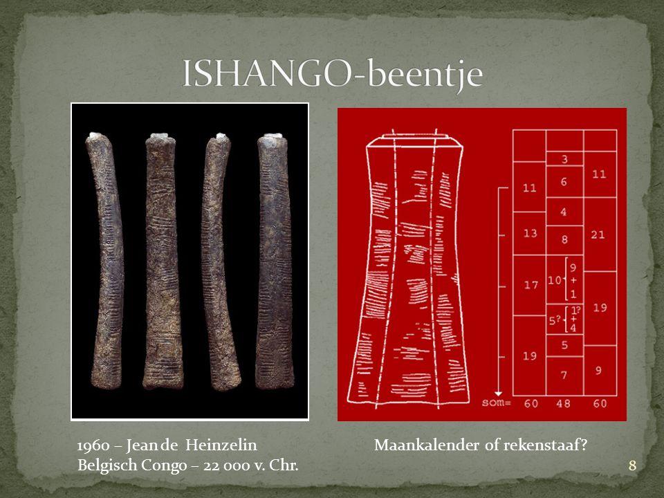 ISHANGO-beentje 1960 – Jean de Heinzelin