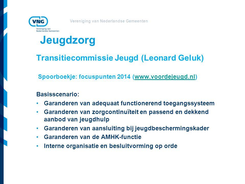 Jeugdzorg Transitiecommissie Jeugd (Leonard Geluk)