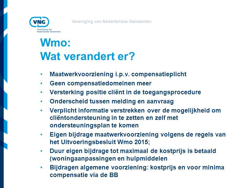Wmo: Wat verandert er Maatwerkvoorziening i.p.v. compensatieplicht