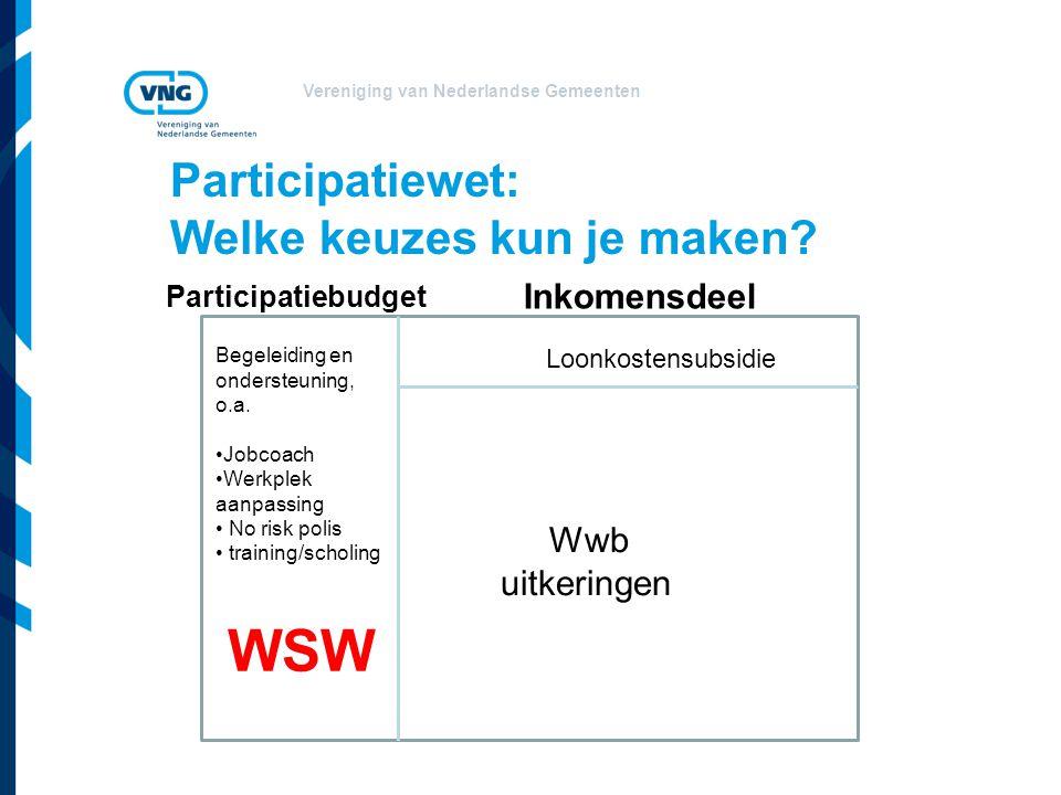 Participatiewet: Welke keuzes kun je maken