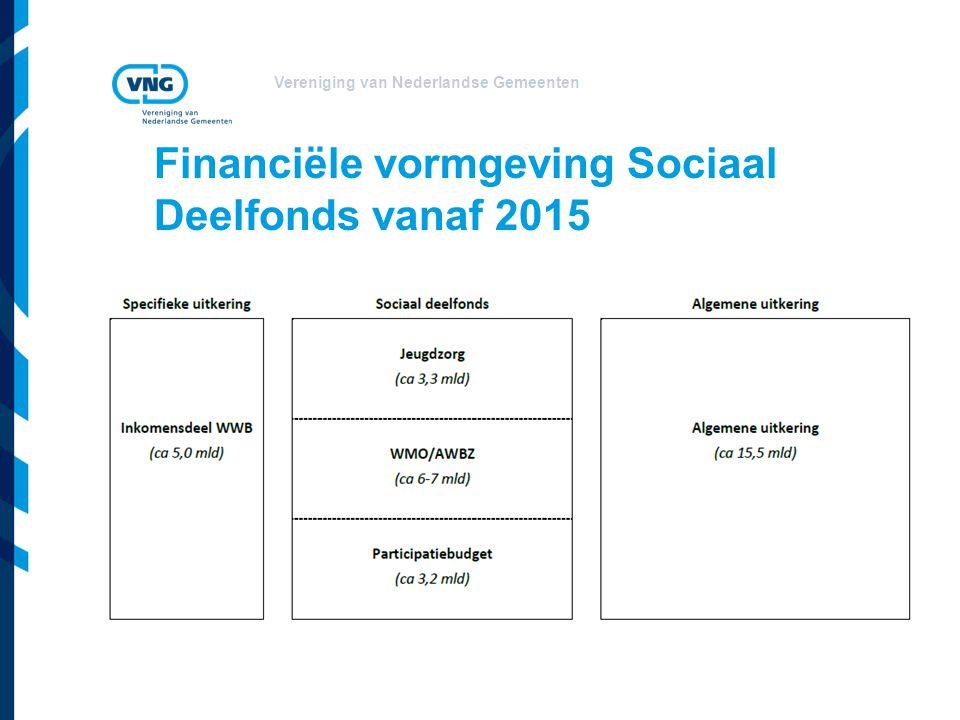 Financiële vormgeving Sociaal Deelfonds vanaf 2015