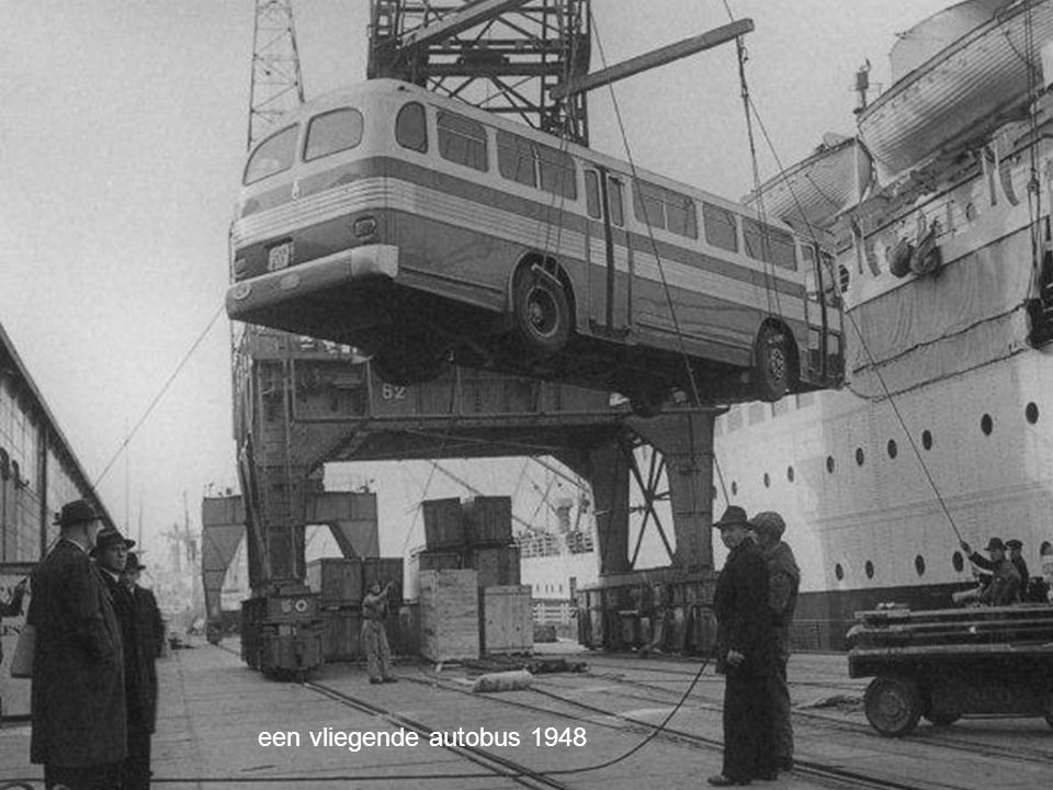 een vliegende autobus 1948