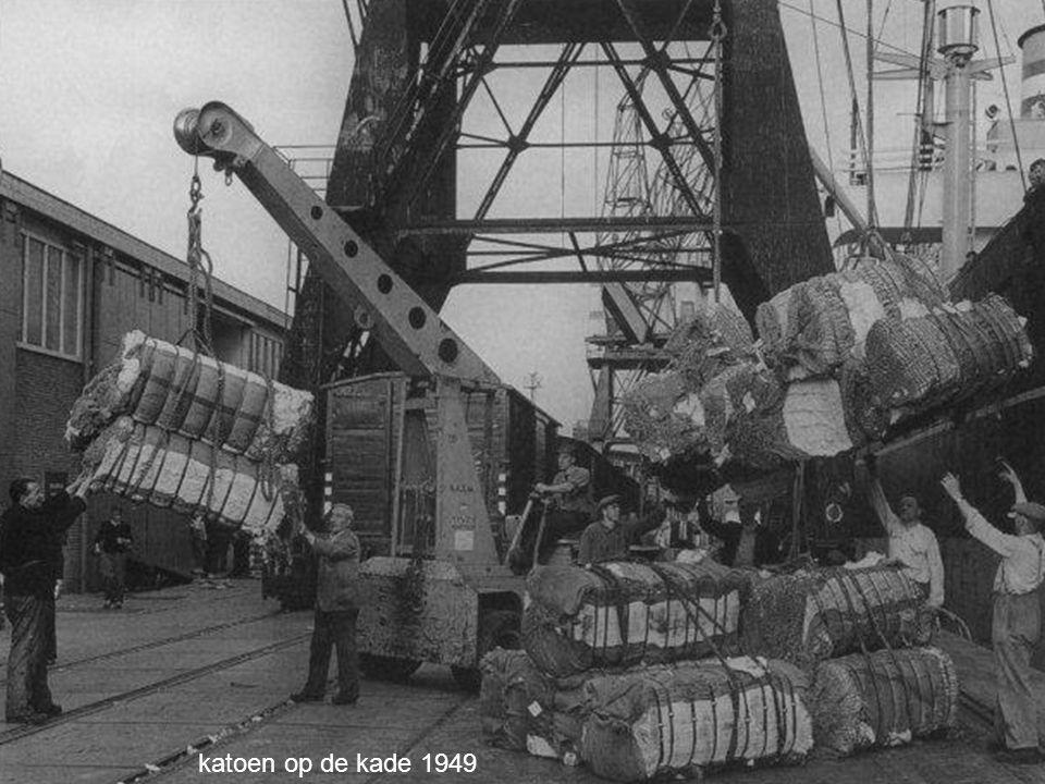 katoen op de kade 1949