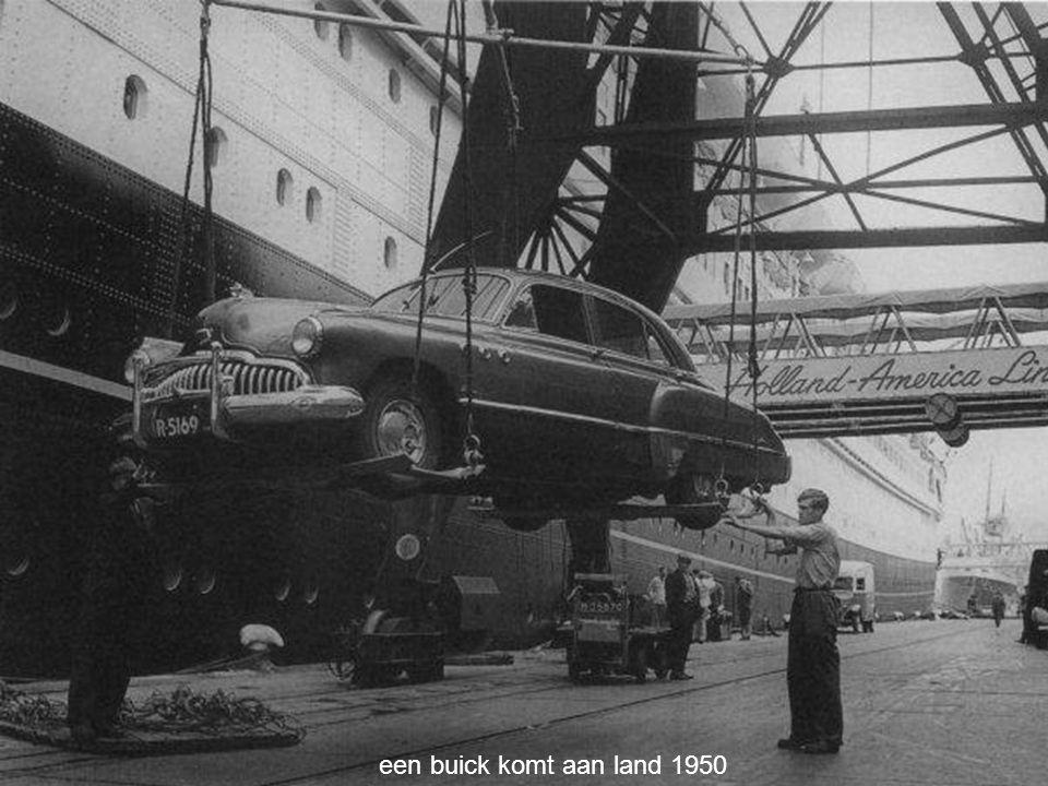 een buick komt aan land 1950